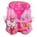 Áo phao bơi Kitty hồng cho bé từ 2 đến 6 tuổi