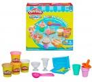Bộ đồ chơi đất nặn làm Kem que, kem ốc quế, kem ly Play-Doh