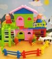 Đồ chơi xếp hình ngôi nhà Peppa Pig