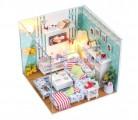 Nhà búp bê DIY - Phòng khách Butterfly's love