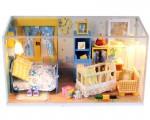 Nhà búp bê DIY - Phòng ngủ tình yêu