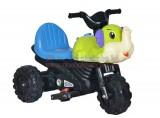 Xe máy điện kiểu dáng chú voi xinh xắn cho bé